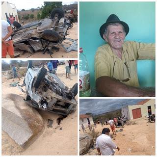 Morador de Baraúna morre após acidente de carro nesta terça (21)