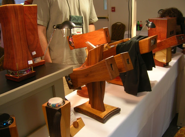kaleidoscopes on display, Brewster Society Convention