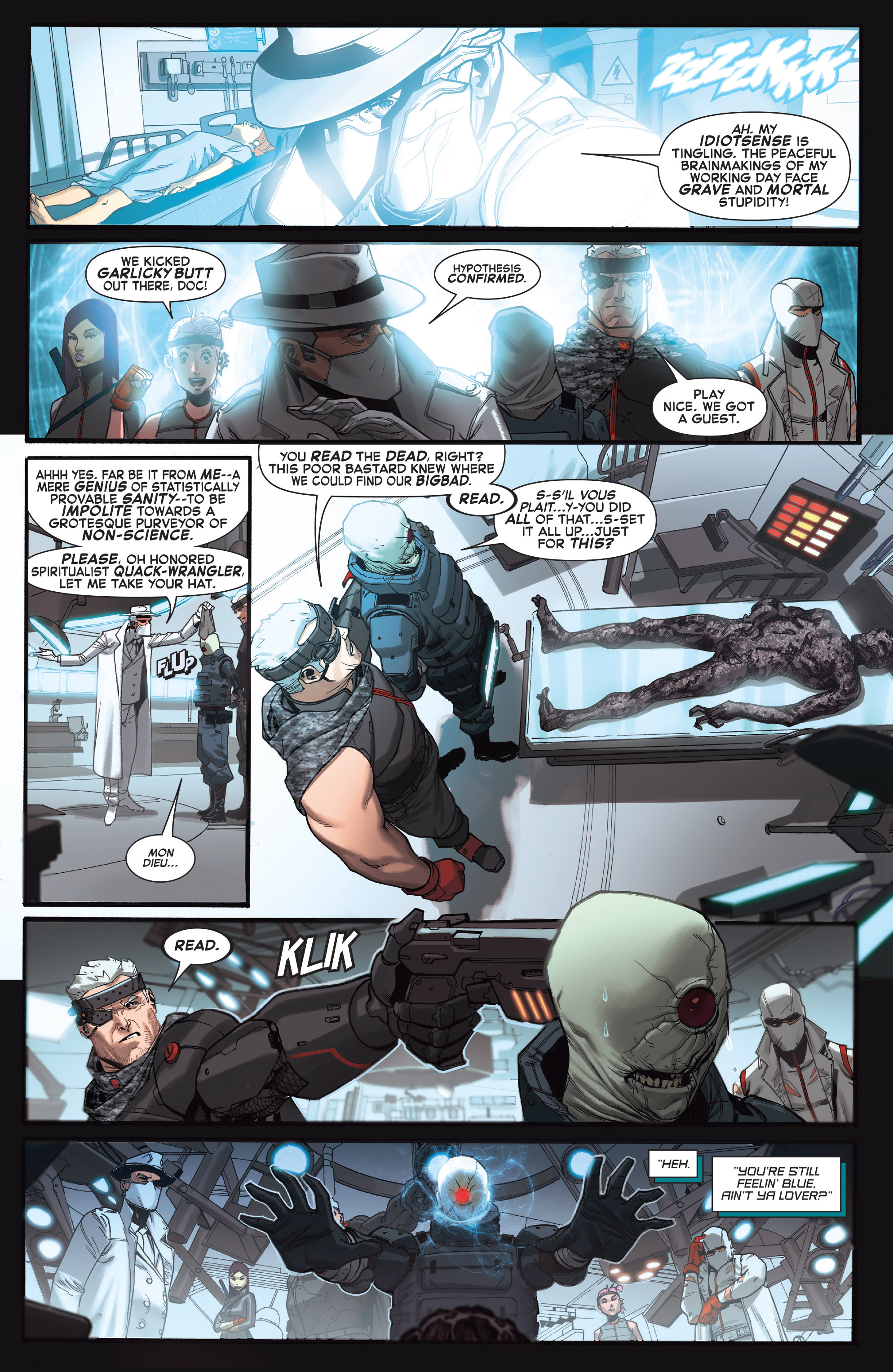 Read online X-Force (2014) comic -  Issue #4 - 20