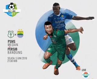 Djanur Yakin PSMS Cetak Gol ke Gawang Persib Bandung #PersibDay
