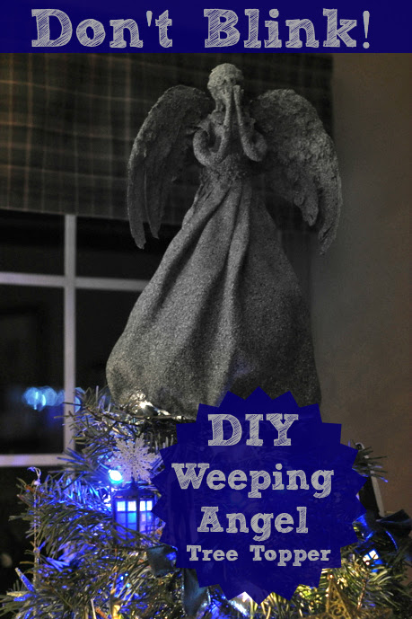 Wibbly-Wobbly Timey-Wimey Stuff and Nonsense: DIY Weeping Angel Tree Topper