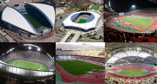 Membanggakan! Inilah Daftar Stadion Terbaik di Asia Versi AFC, Salah Satunya Milik Indonesia