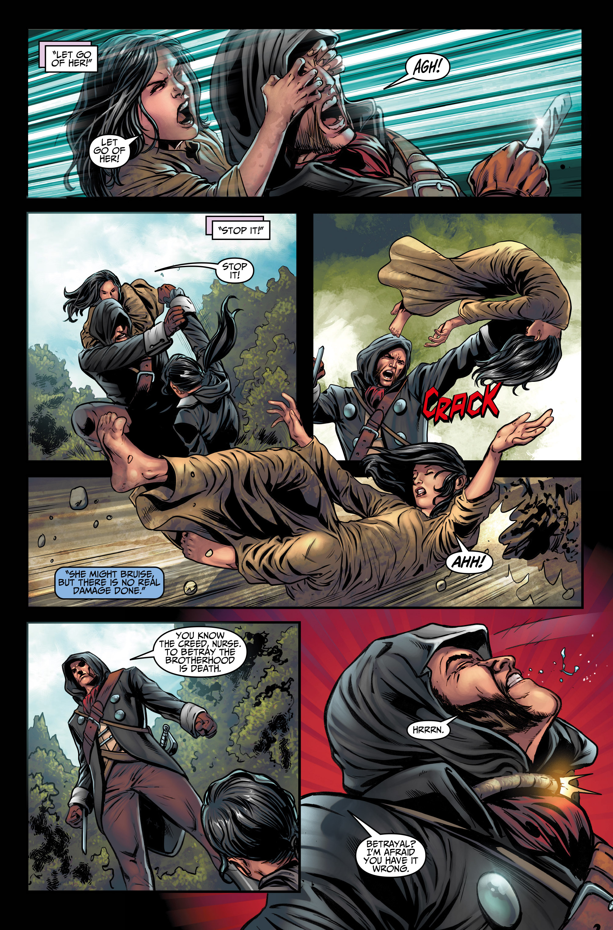 Read online Assassin's Creed (2015) comic -  Issue #3 - 25