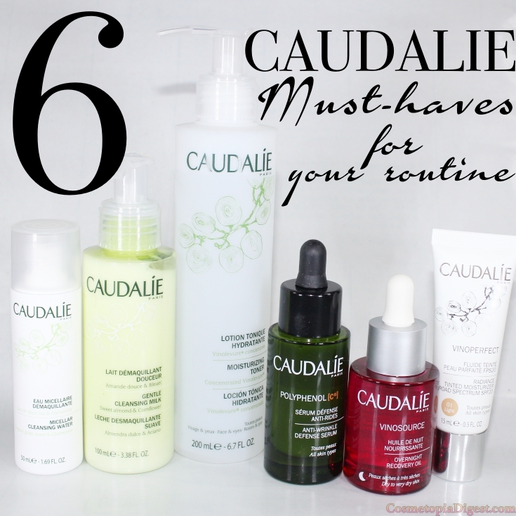 Here are the six Caudalie must-have products you need in your routine, from cleansing till moisturising.