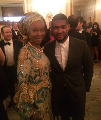 Toyin Saraki and her son, Oluwaseni join The Obamas, Usher, others at White House tribute to Ray Charles