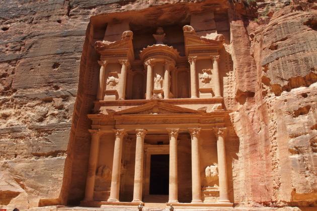 Treasury - the gem of Petra, Jordan