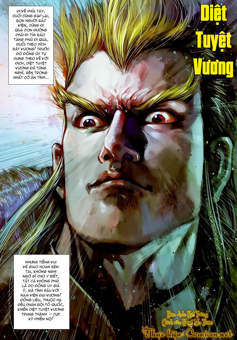 truyện tranh thiết tướng tung hoành Chapter 22/