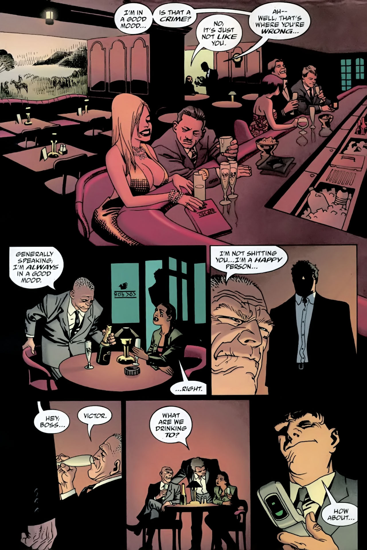 Read online 100 Bullets comic -  Issue #89 - 9