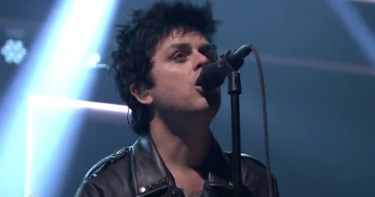 "Watch Green Day Play ""Bang Bang"" On <i>Jimmy Fallon</i>"