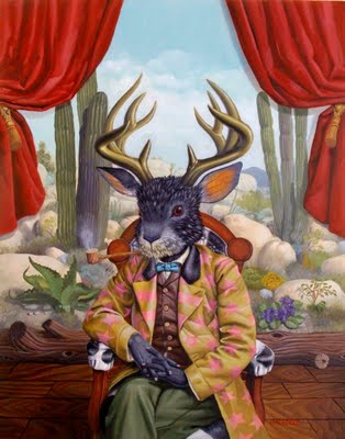 the myth of the jackalope A hybrid animal and official mythical creature of wyoming, our jackalope puppet  comes to life magically in your hands full of personality, your audience will.