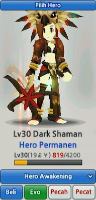 Dark Shaman Evolution Lost Saga Indonesia