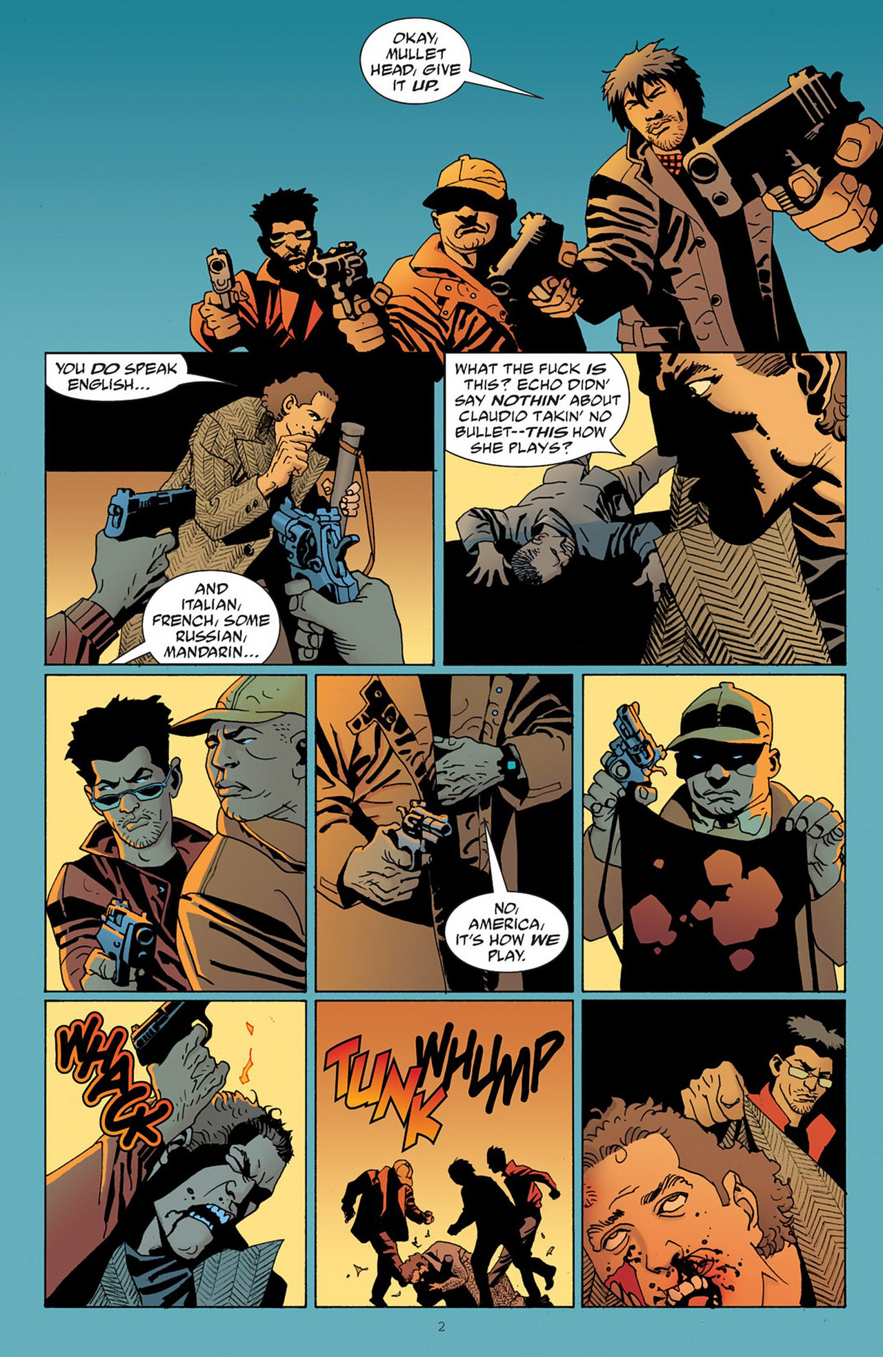 Read online 100 Bullets comic -  Issue #83 - 3
