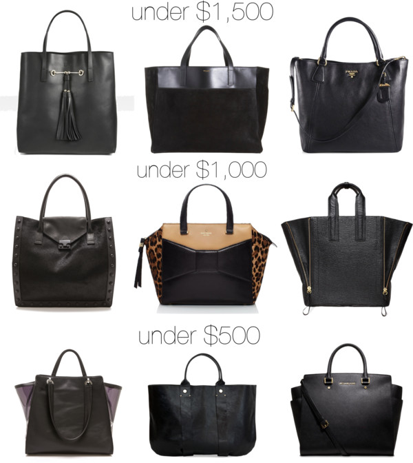 77a4dab6ffaa1 Dooley Noted Style  The Classic Black Tote