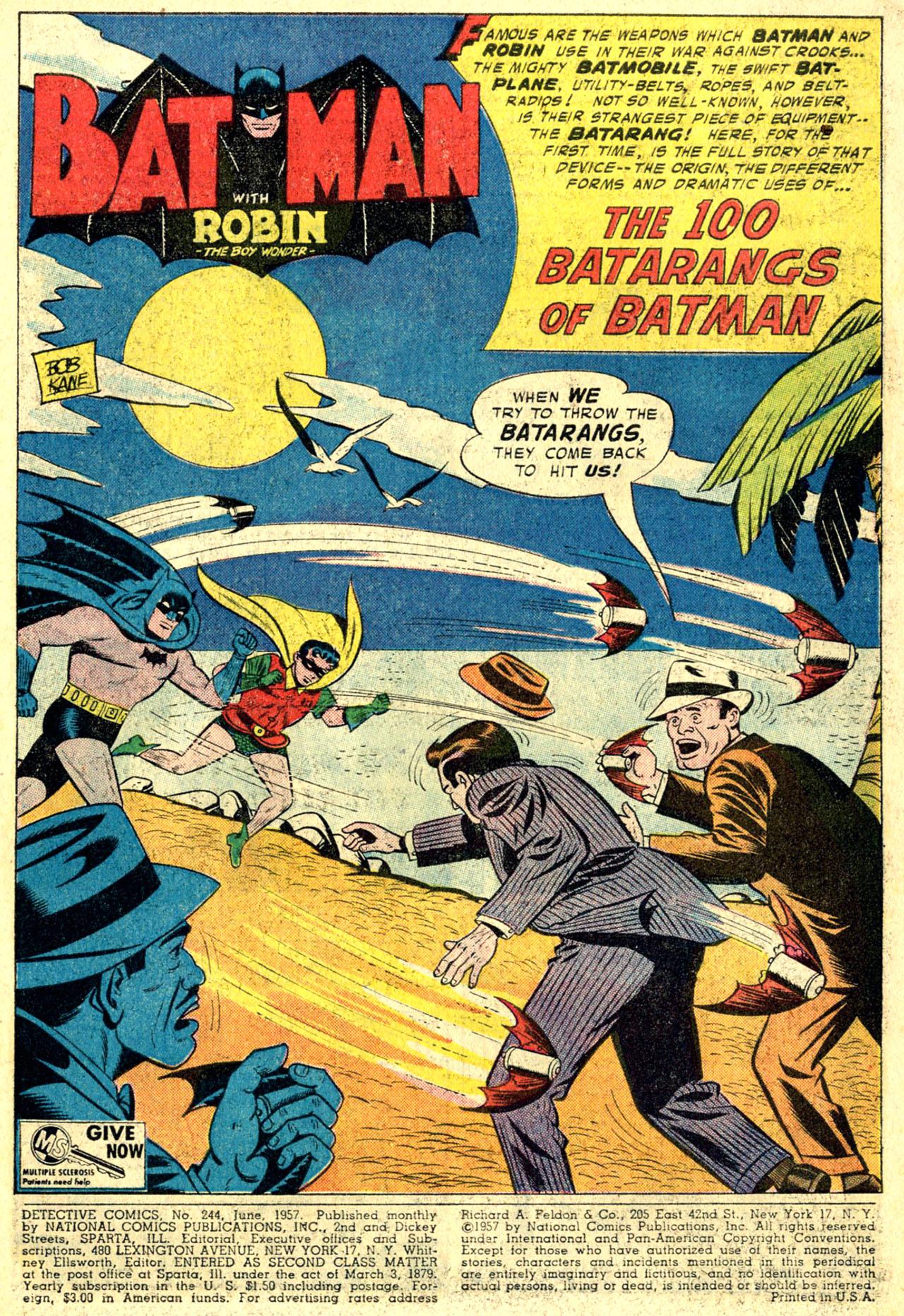 Read online Detective Comics (1937) comic -  Issue #244 - 3