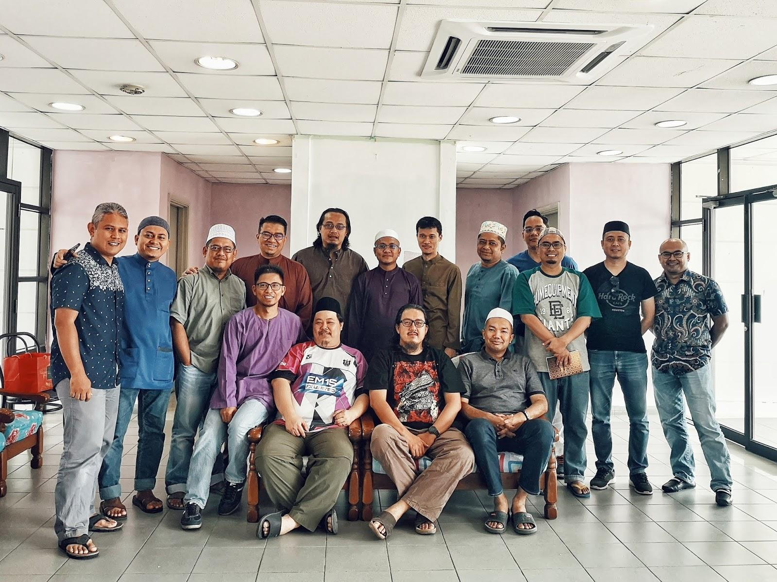 Majlis Bacaan Yasin & Tahlil KMKN 95/96 - Kaum Bapa