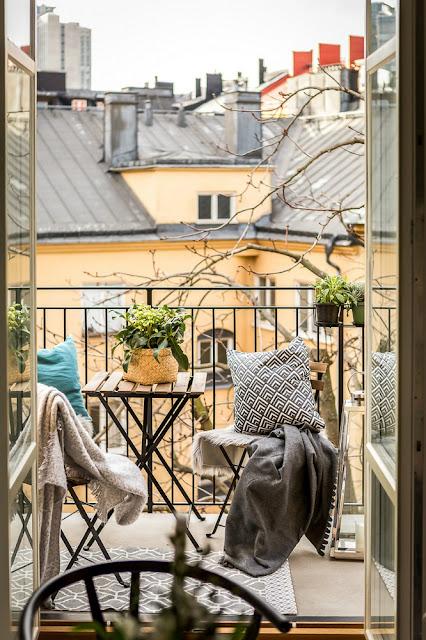 balcon deschis