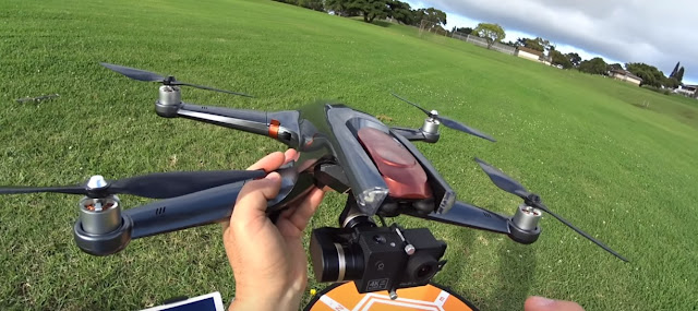 Review Halo Drone Pro Drone Untuk action Cam Gopro Hero