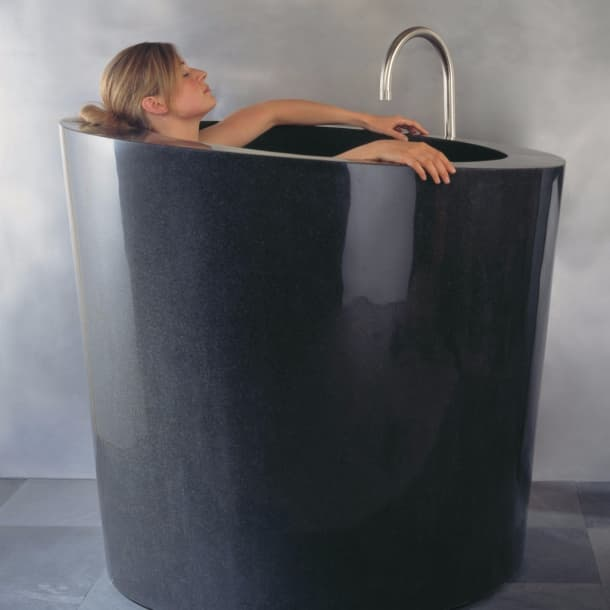 Tinas De Baño De Piedra:Consejos para la correcta instalación de una tina de piedra