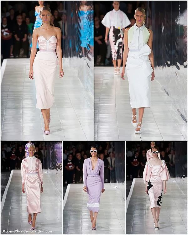 PrabalGurung S/S2014 runway dresses