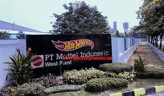 Loker STAFF GUDANG PT MATTEL INDONESIA