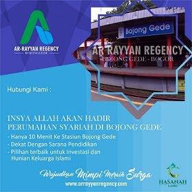 rumah syariah di bogor Arrayan Regency