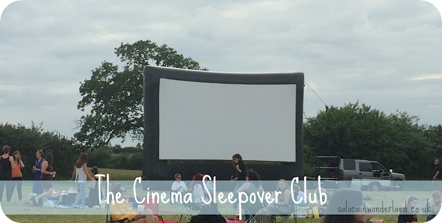 cinema sleepover club review