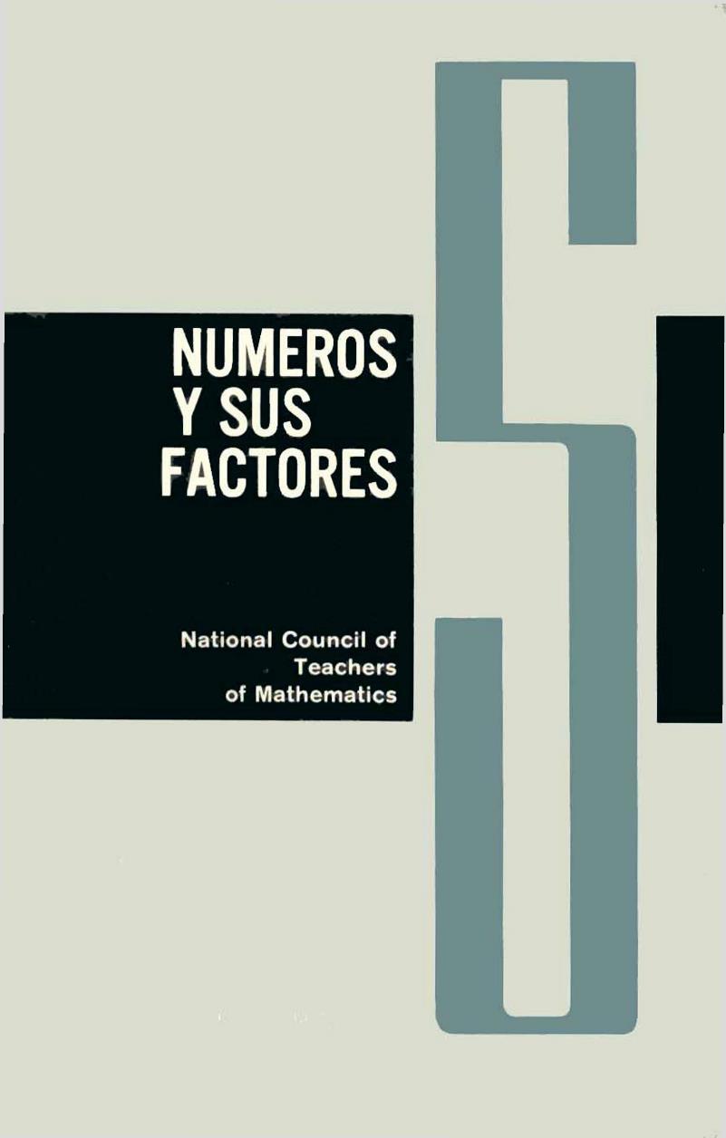 Cuaderno 5: Números y sus factores