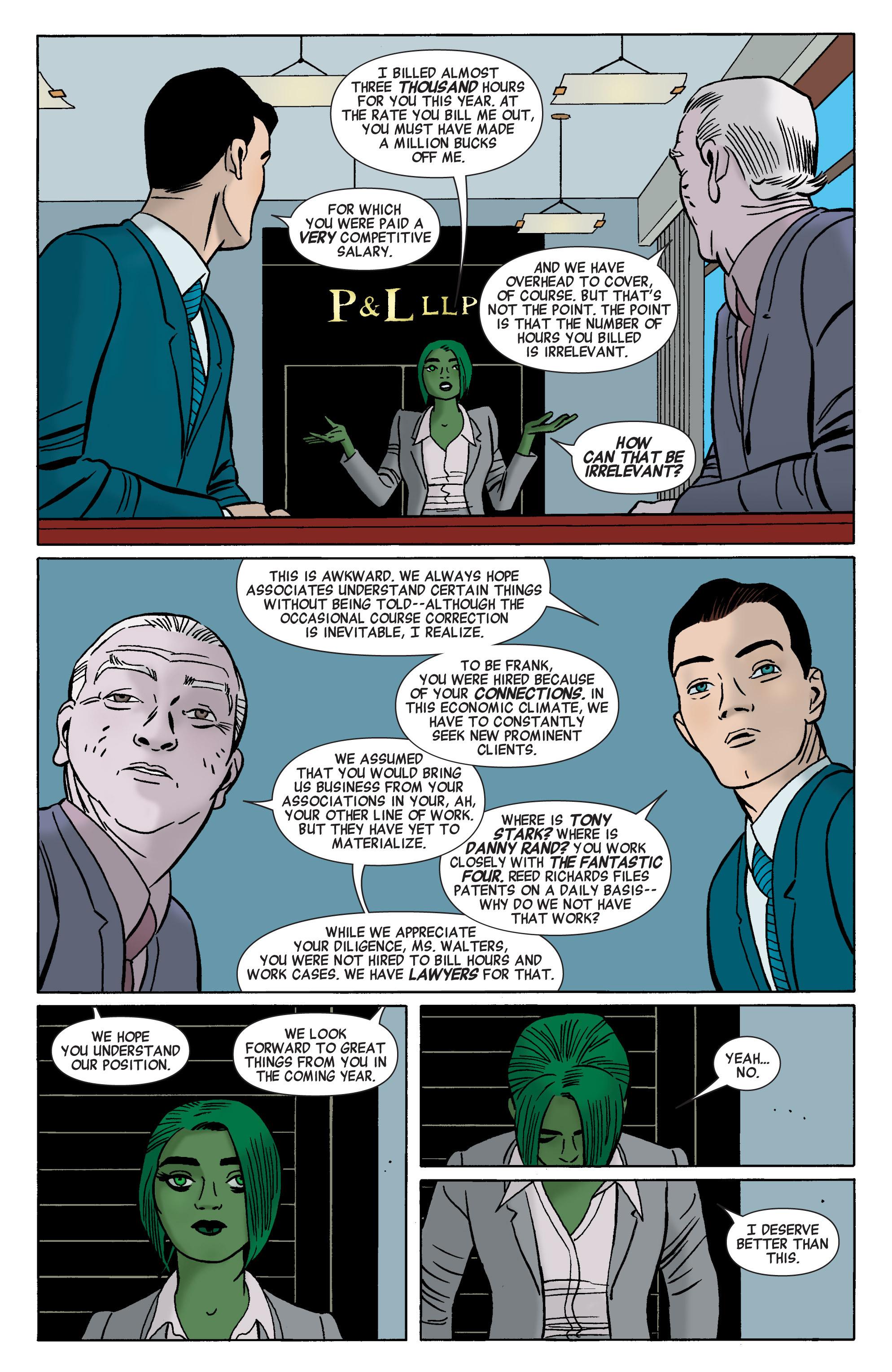 Read online She-Hulk (2014) comic -  Issue #1 - 6