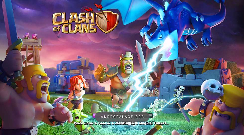 Clash Of Clans Mod Apk 2018 10 322 16 Andropalace Download Games