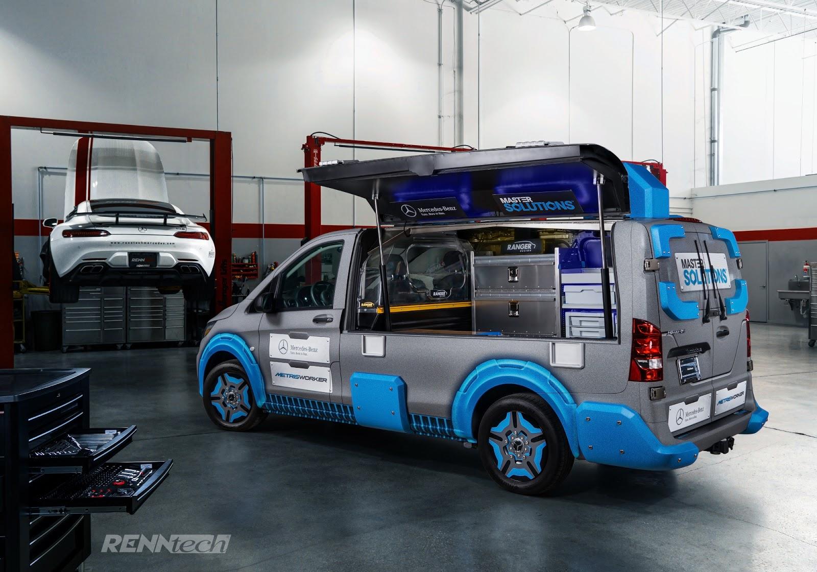 RENNTECH :: NEWS: Mercedes-Benz USA Toolbox-Van Concept by RENNtech