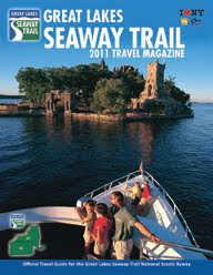 2011 Great Lakes Seaway Trail Travel Mag Available