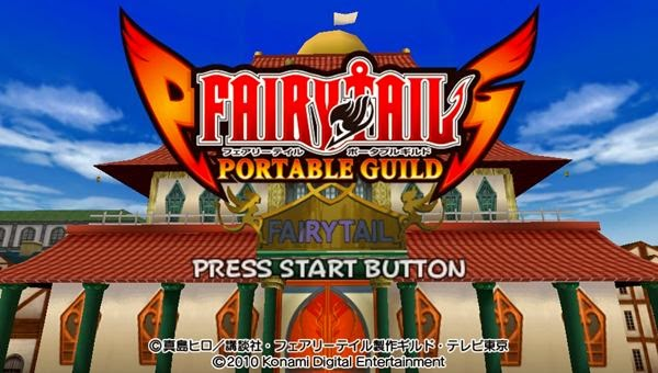 fairy tail portable guild 2 english patch download free