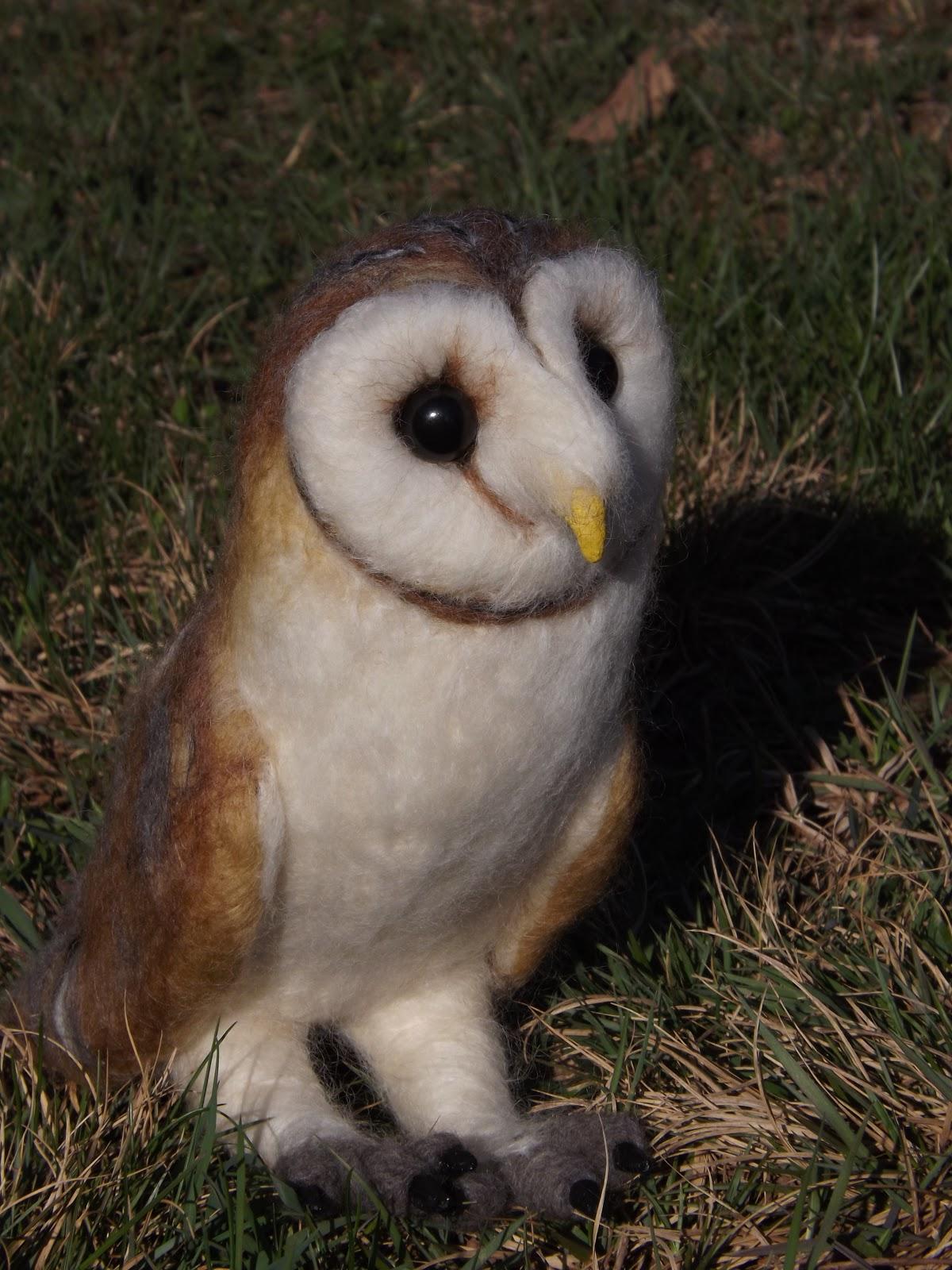 Life Sized Barn Owl