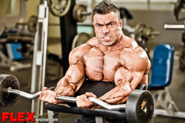 تدريبات عضلات الباى ل Eduardo Correa