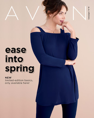 avon catalog ease into spring sale flyer