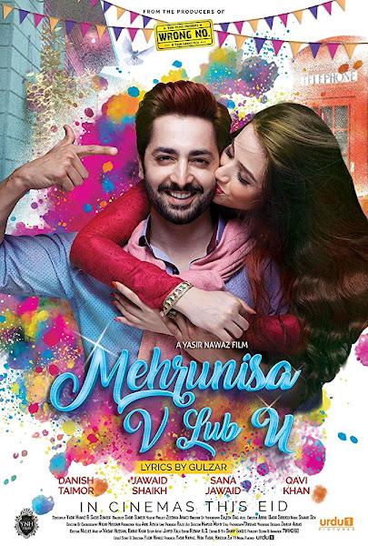 Poster of Mehrunisa V Lub U (2017) Full Movie Hindi 720p HDRip Download