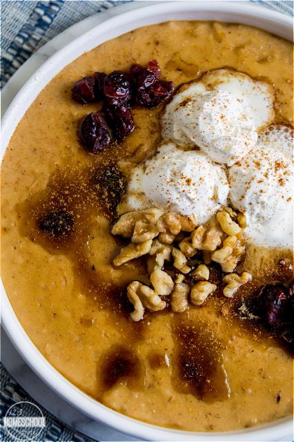 crockpot oatmeal recipe for fall