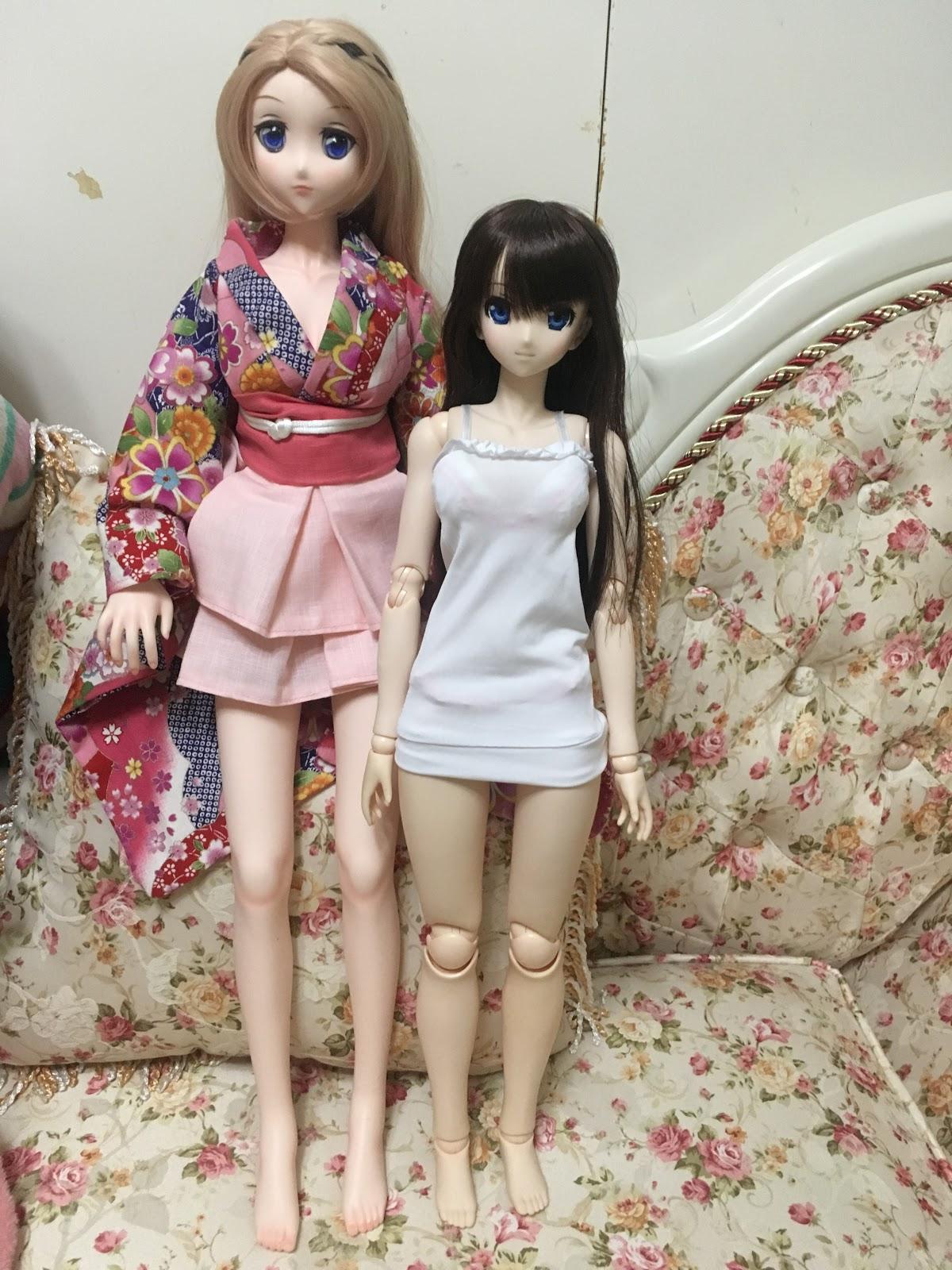 1/3大型娃娃分享-Evoke doll 62cm(類似volks dd&mdd)