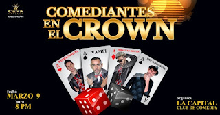 Comediantes en el Crown (Stand Up Comedy)