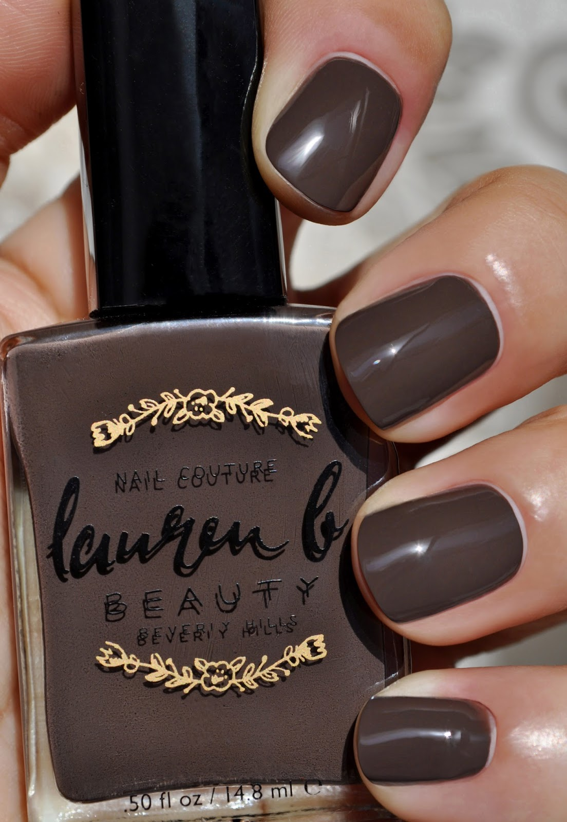 So Lonely in Gorgeous: I polished In The Nude...Lauren B Nude No.5 ...