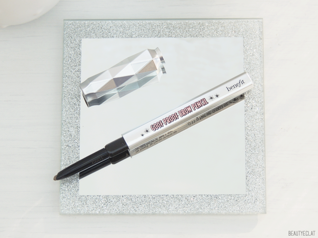 Goof Proof Brow Pencil light Benefit revue avis test