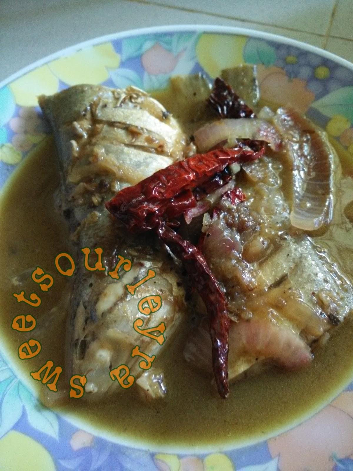 Resepi : Ikan Senangin Masak Lada