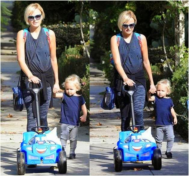 Malin Akerman wore DAYDREAMER in LA