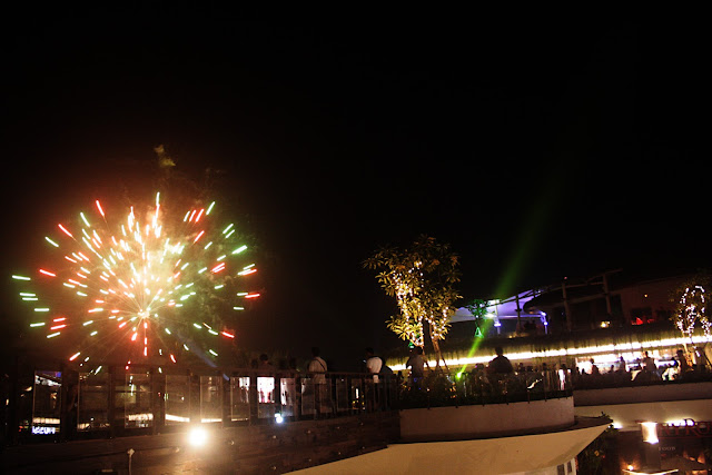 Beachwalk Kuta Bali - New Year party.
