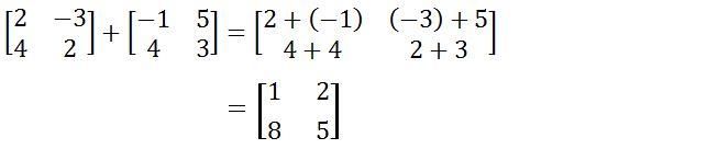 Rumus Penjumlahan Matriks dan Pengurangan Matriks Rumus Penjumlahan Matriks dan Pengurangan Matriks