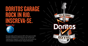 Concurso DORITOS® GARAGE ROCK IN RIO