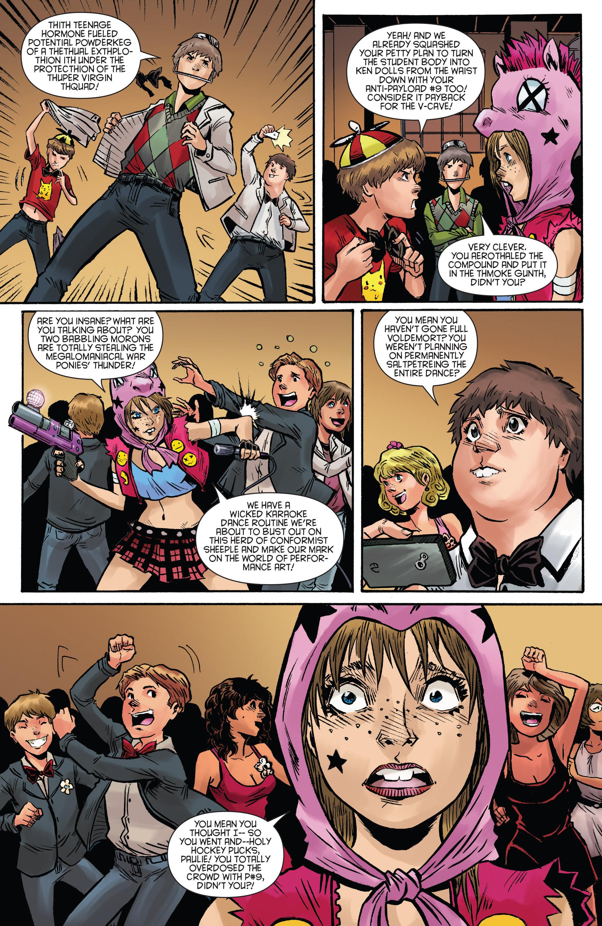 Read online Smosh comic -  Issue #2 - 21