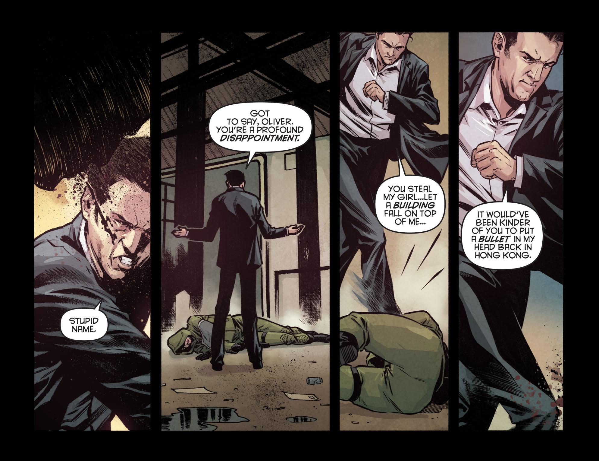 Read online Arrow: Season 2.5 [I] comic -  Issue #7 - 13