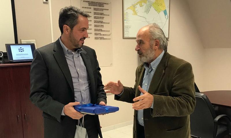 Στην Αλεξανδρούπολη ο νέος Πρόεδρος του ΤΑΙΠΕΔ για τα... «ασημικά» του λιμανιού
