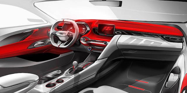 Novo Hyundai Veloster 2019 - interior